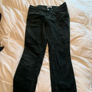 Forest green corduroy pants